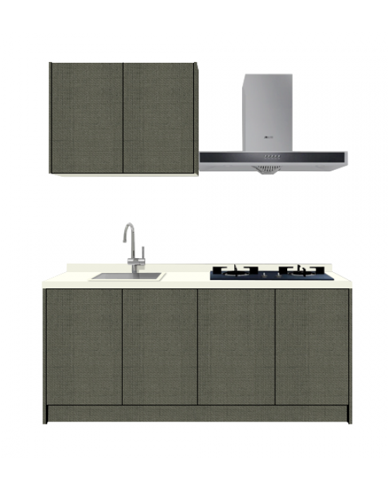 Tela Glam Kitchen Cabinet i6